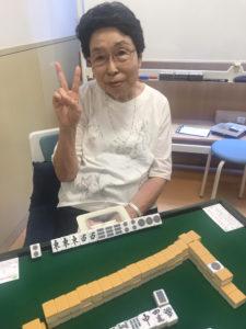 青木祐子 四暗刻 8月5日 世田谷支部