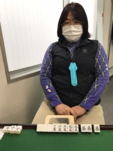 小前京子 大三元 1月8日 目黒支部