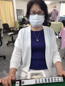田嶋玲子 四暗刻 3月30日 目黒支部