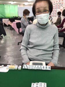 黒尾輝子 四暗刻 3月12日 目黒支部