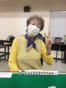 小山幸子 四暗刻 5月13日 中野教室
