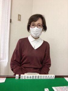 秋山恵子 四暗刻 5月3日 練馬支部