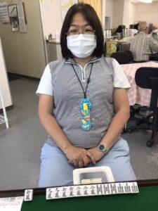 小前京子 四暗刻 6月18日 目黒教室
