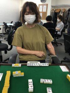 松下鈴子 四暗刻 7月2日 調布支部