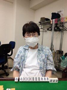 山﨑俊子 四暗刻 9月20日 練馬支部